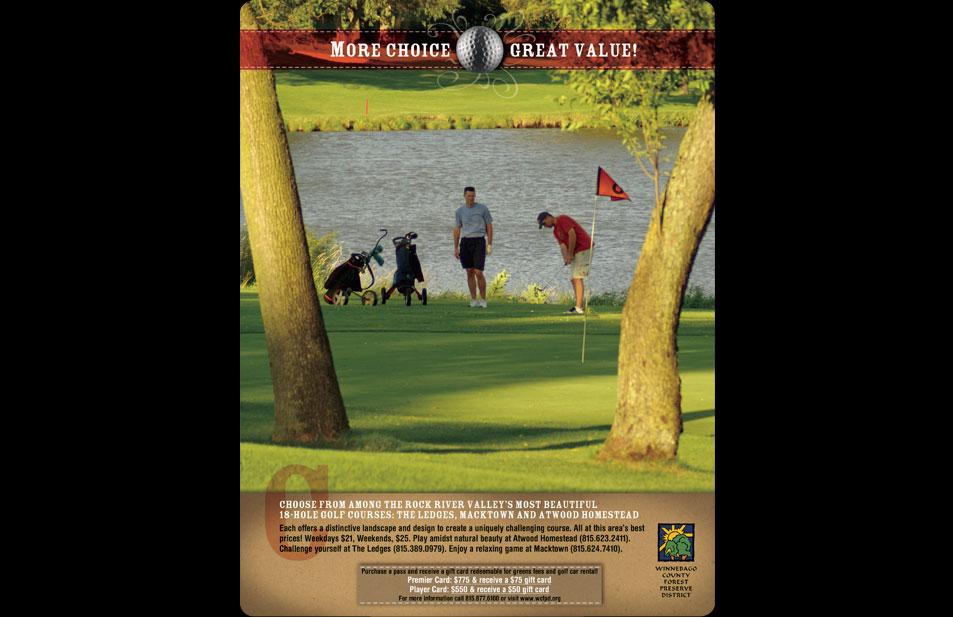 wcfpd-golf-series-print-ad-value-design