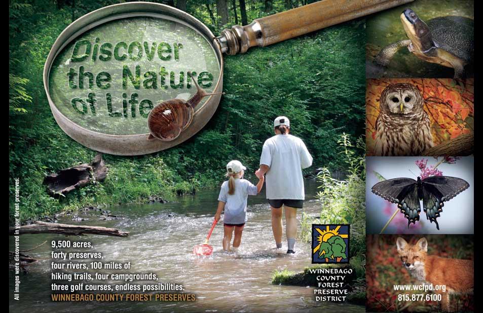 wcfpd-nature-series-print-ad-stream-design